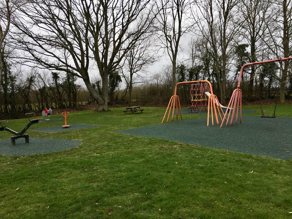 New Safety Surface in Play Area